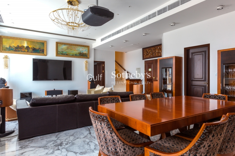 1/jbr High-Floor Apartment With Palm View