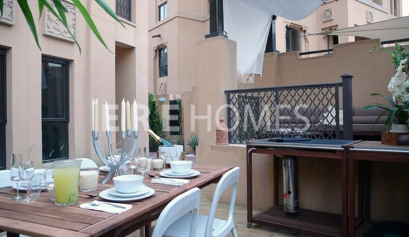 Beautifully Furnished 1 Bed With 1300 Sqft Garden, Miska, Oldtown-135,000 Aed Er R 12372