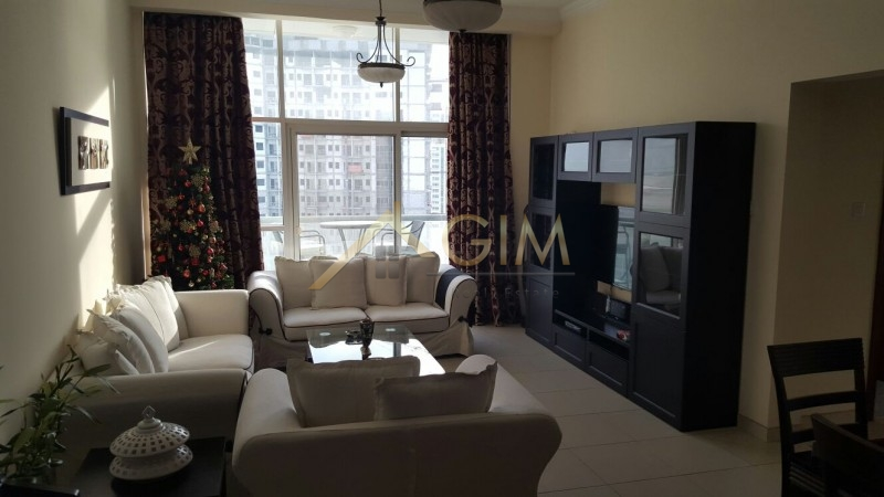 Fully Furnished 2 Br With Burj Khalifa View