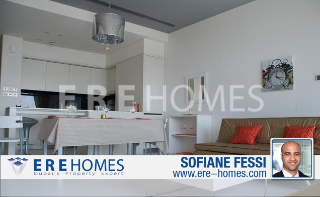 5% Return! High Floor, Modern 1 Bedroom In Index Tower Er S 6443