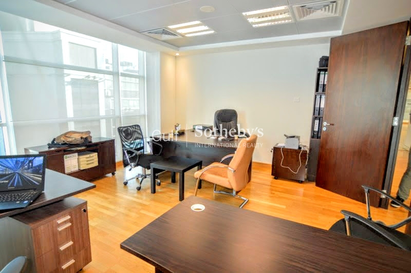 Fully Furnished Office With Pantry, Tecom