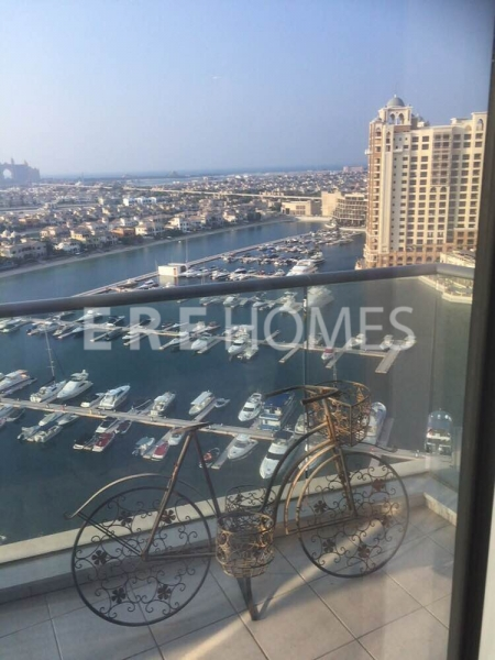 Fully Furnished High Floor 2 Bedroom In Oceana Pacific Building Vacant Now
