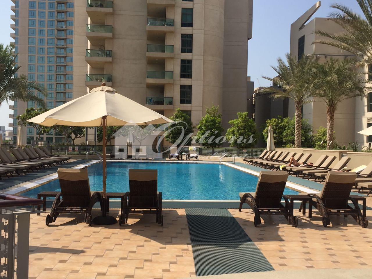 Lovely One Br Apartment In Link East Tower
