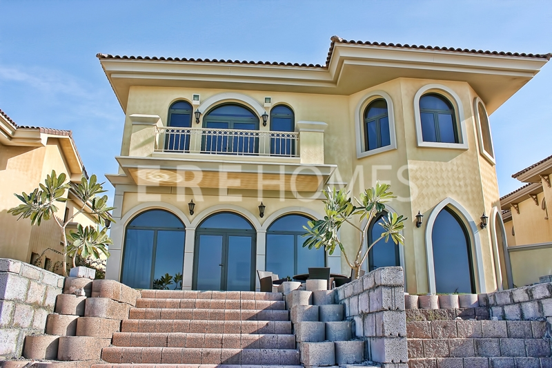Well Priced High Number Fully Furnished Atlantis Facing Atrium Entry Garden Home, Palm Jumeirah Er S 1484