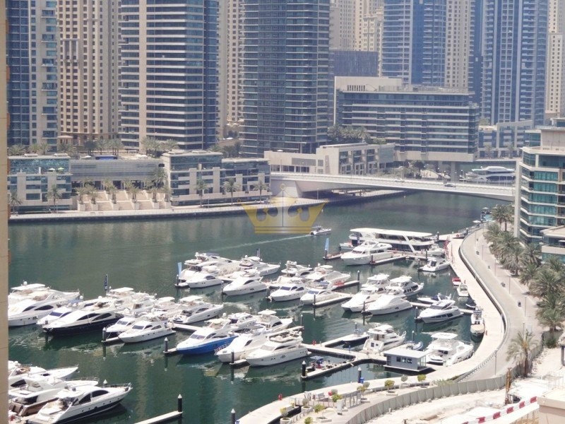 Huge Balcony, Marina View, 4Cheqs, Near Metro