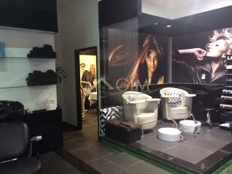 Well Running Profitable Ladies/gents Salon In Media City Ae