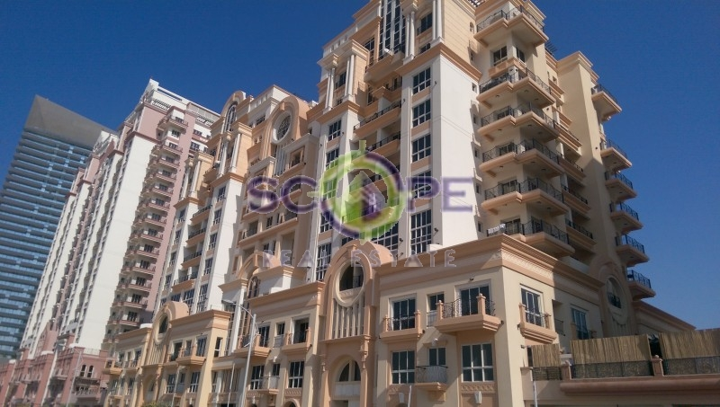Dubai Sport City European Building 2 Bedroom Full Canal View For Sale