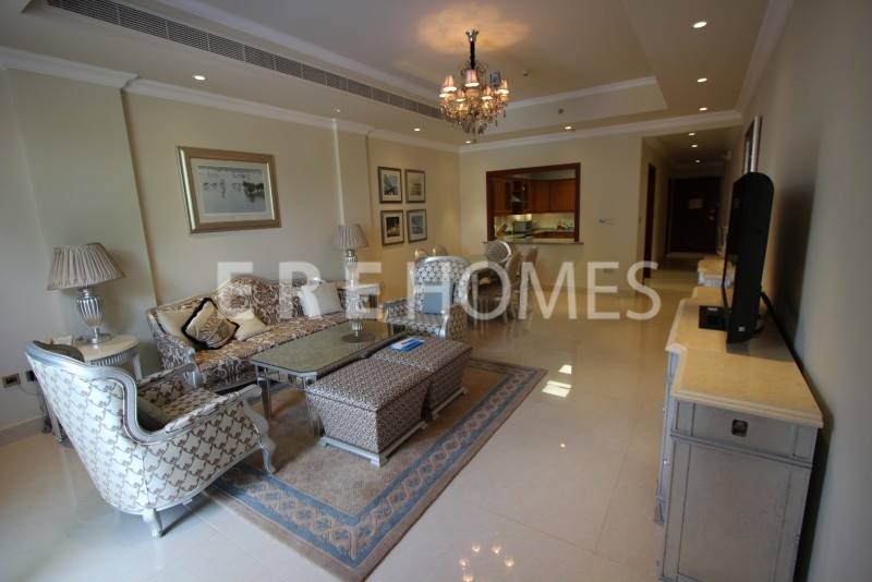 Luxurious Kempinski 2 Bedroom Ground Floor Apartment With Swimming Pool And Fully Furnished (Silver Package) Er S 5255