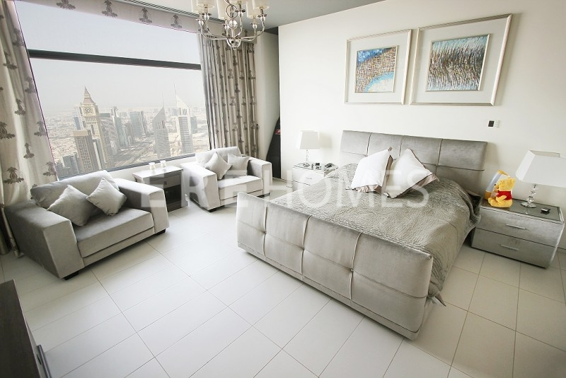 Burj Khalifa Facing 1 Bed, Fully Furnished, Index Tower, Downtown Aed 125,000 Er R 13723