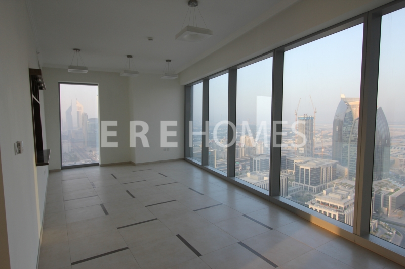 Huge 3 Bed, Burj , Sea Views, High Floor, Burj Gate Aed 215k Er R 14618