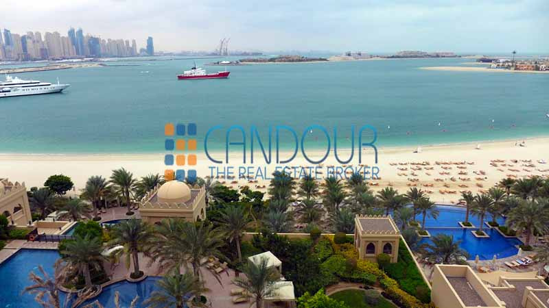 Best Sea And Dubai Eye View From The Palm