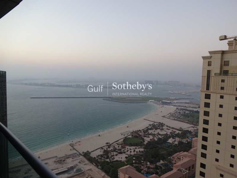 Fully Furnished Two Bedroom-Full Sea View