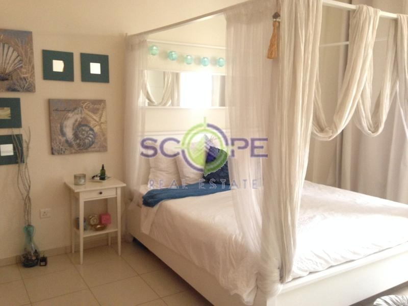 Jumeirah Village Circle Emirates Garden One Bedroom Fully Furnished For Rent