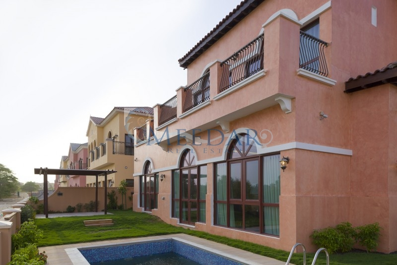 4 Bedrooms Villa In Jumeira Golf Estate, Orange Lakes