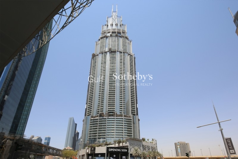 Front Facing Burj Khalifa View 1 Bedroom