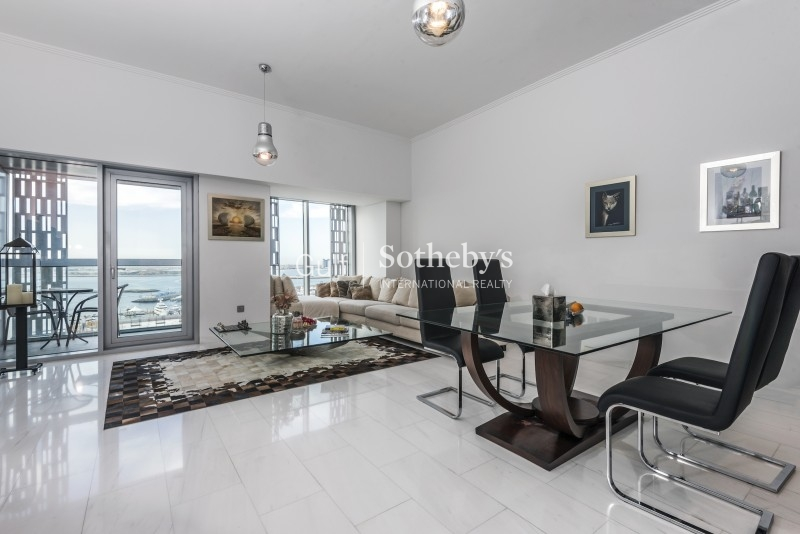 Cayan Tower Full Sea View 2br Apartment