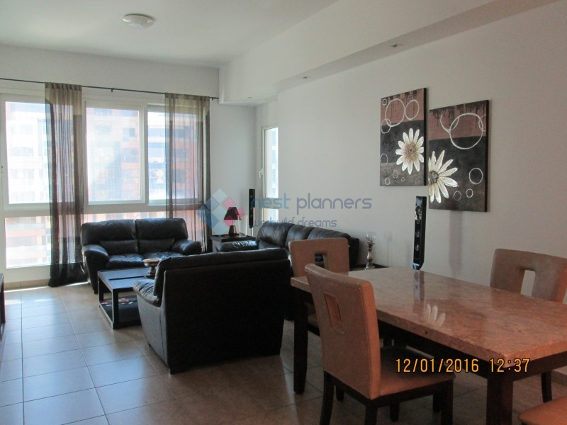 Amazing Fully Furnished 2 Bedroom+maid In Marina Residence-Palm Jumeirah-