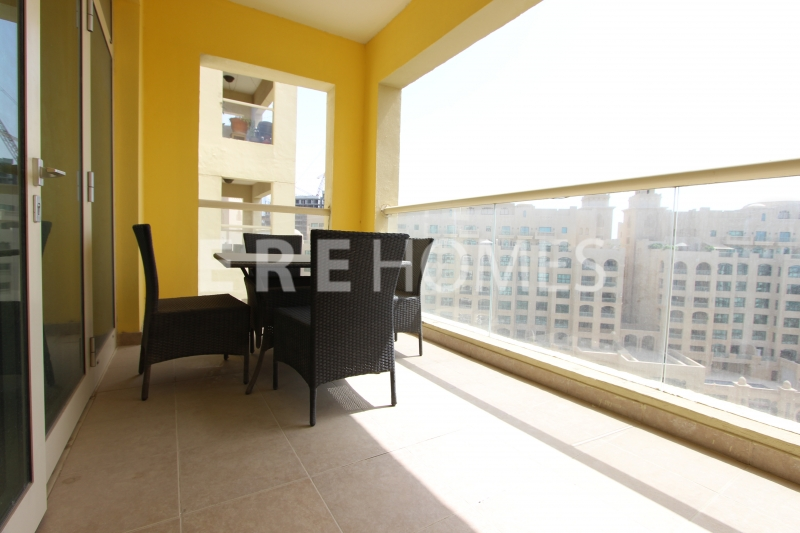 1 Bed In Shoreline, Palm Jumierah, Penthouse Level, Vacant Now Er R 16203