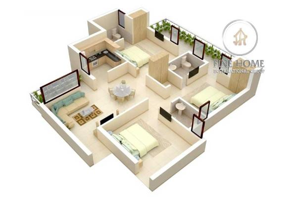 Apartment In Al Nahyan Camp