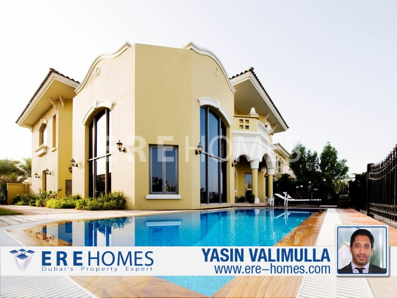 Exclusive.. High Number Mediterranean Central Rotunda Garden Home-Palm Jumeirah Ers 2512