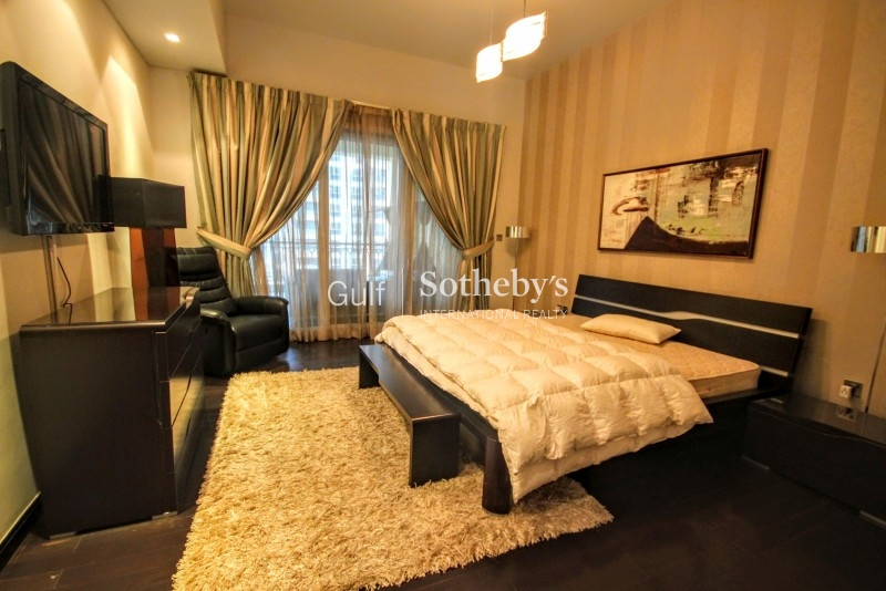 Fully Furnished High Floor Partial Sea