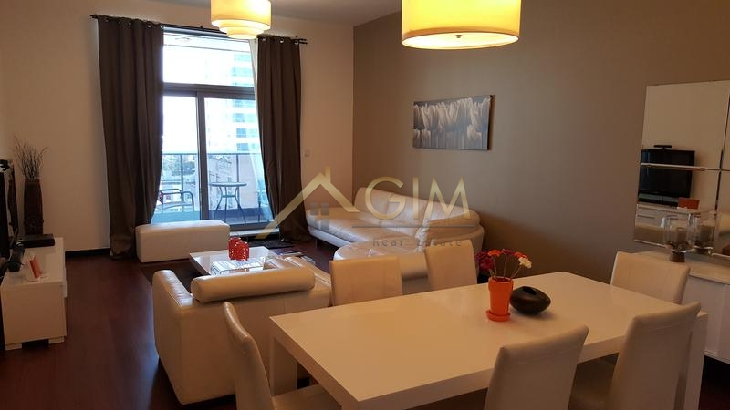 2br + Maids Room | Fully Furnished In Green Lakes 3, Jlt
