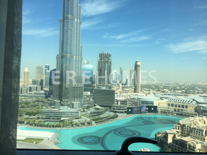 Full Burj View Beautiful 3 Bedroom Apartment, Residences, Downtown.