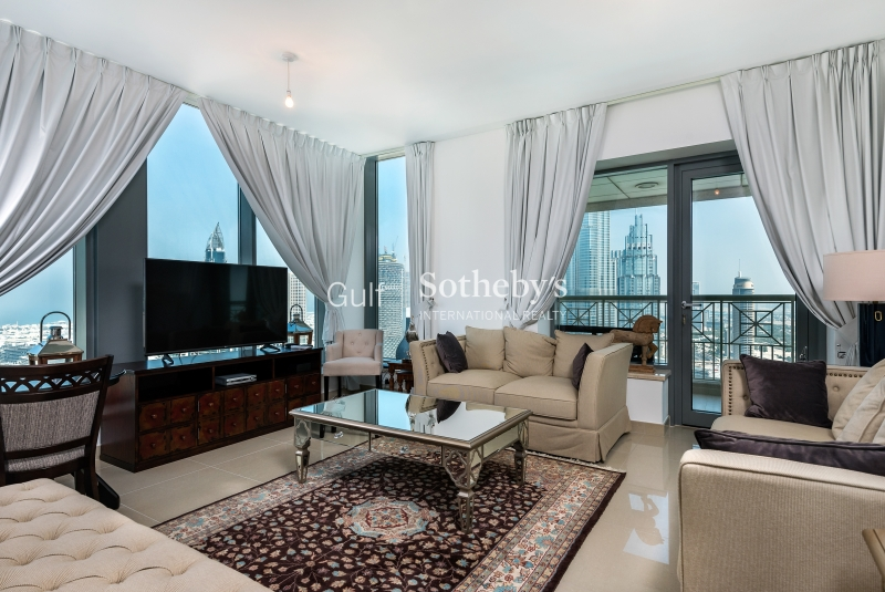 29 Boulevard-Fountain And Burj View-2br