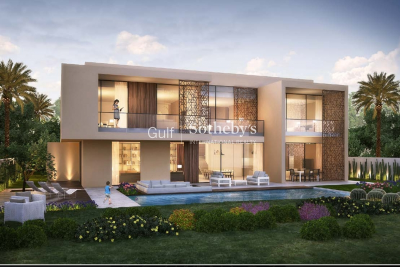 Emaar Mansion Backing Onto Golf Course