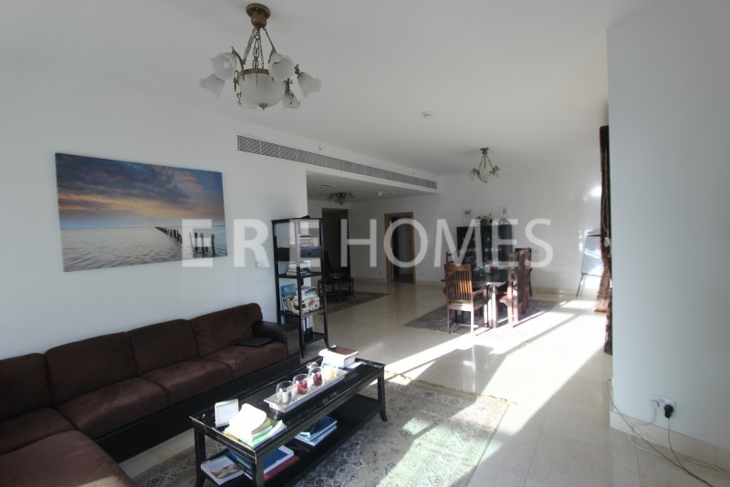 Unfurnished 3 Bedroom+maids, Marina Mansions, Available Now Er R 10941