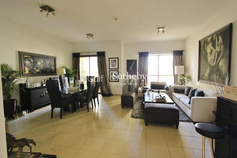 Low Floor Elegantly Furnished 3br Plus Maid