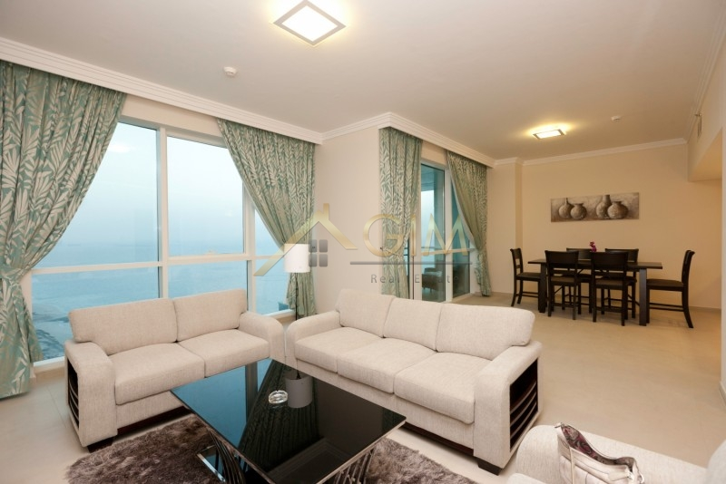 Fully Furnished 2 Br+ Maids Room At Al Bateen Tower