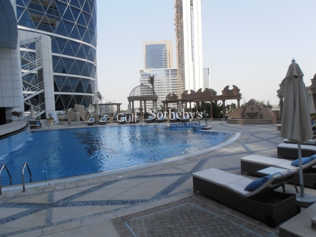 Park Towers A, 3bed Plus Maid Unfurnished