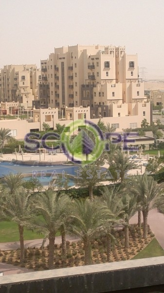 Vacant 1 Bed With Open Kitchen, Pool View, Inner Circle, Al Thammam, Remraam